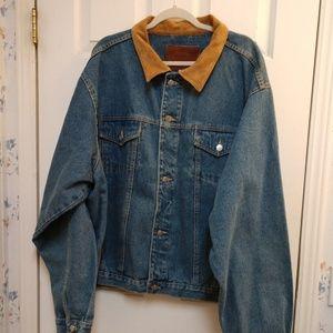 NWT Carroll Original Wear Classic Jean Jacket